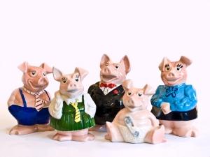 Natwest porcelain piggy banks collection